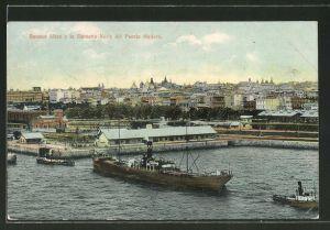 AK Buenos Aires, y la Darsena Norte del Puerto Madero