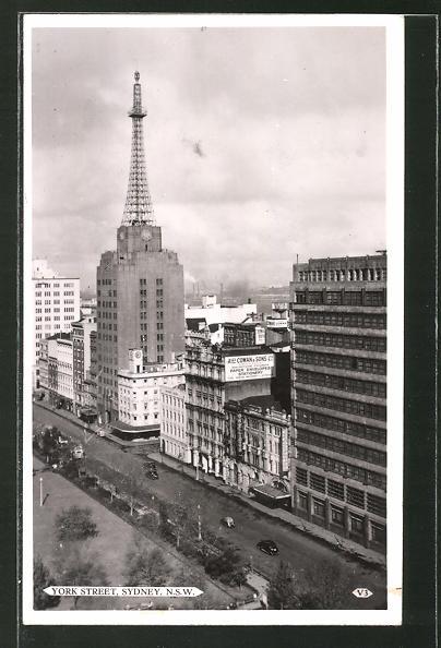 AK Sydney, View of York Street