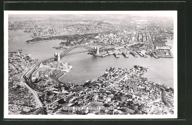 AK Sydney, Aerial View of Harbour