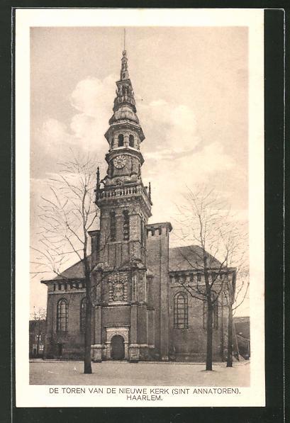 AK Haarlem, De Toren van de Nieuwe Kerk Sint Annatoren