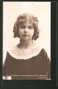 AK Prinzessin Marie-José von Belgien