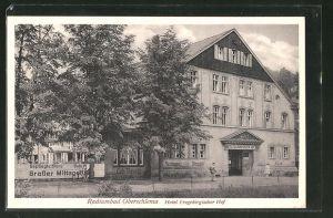 AK Oberschlema, Hotel Erzgebirgischer Hof