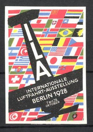 Reklamemarke Berlin, Internationale Luftfahrtausstellung