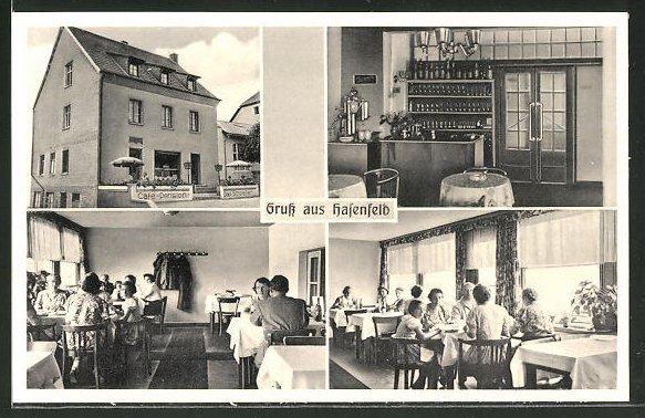 AK Hasenfeld, Café-Restaurant Schoeller