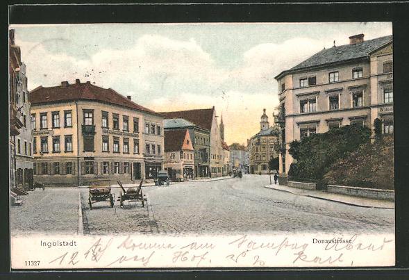 AK Ingolstadt, Partie in der Donaustrasse
