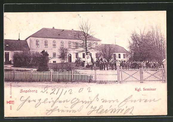 AK Segeberg, Blick zum Kgl. Seminar