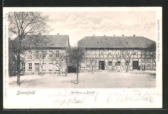 AK Dransfeld, Rathaus und Schule