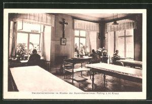 AK Polling z. hl. Kreuz, Handarbeitszimmer im Kloster der Dominikanerinnen