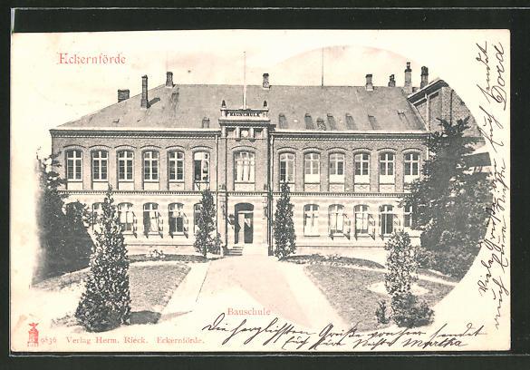 AK Eckernförde, Blick zur Bauschule