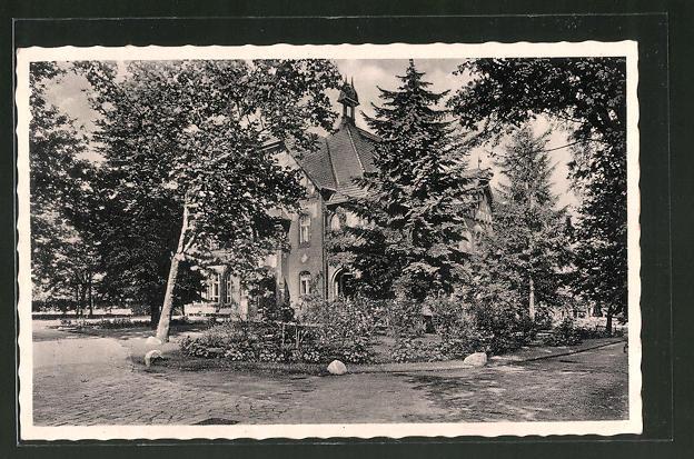 AK Belzig, Erholungsheim, Parkhaus