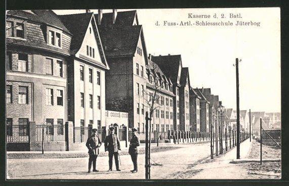 AK Jüterbog, Kaserne d. 2. Batl. d. Fussart.-Schiessschule