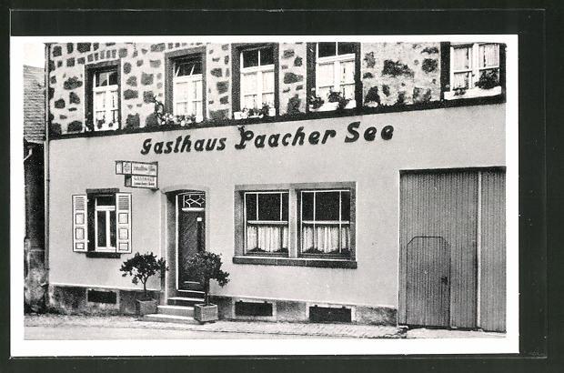AK Kell am Laacher See, Blick zum Gasthaus Laacher See v. K. Bläser