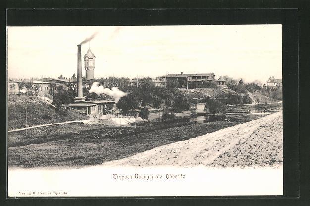 AK Döberitz, Truppenübungsplatz, Panorama