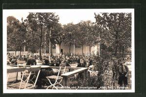 AK Potsdam, Gaststätte und Konzertgarten