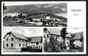 AK Schmidt / Eifel, Panorama & Gasthof-Pension