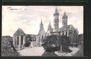 AK Naumburg a. S.Sicht auf den Dom