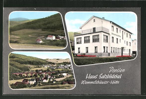 AK Wommelshäuser-Hütte, Pension Hasu Salzbödetal, Ortsansicht