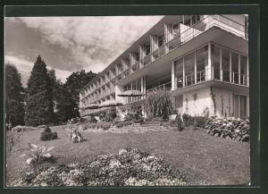 AK Überlingen a. Bodensee, Teilansicht des Sanatoriums