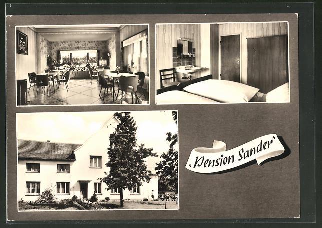 AK Laer / Westf., Pension Sander