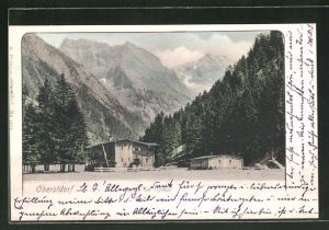 AK Oberstdorf, Partie im Oythal