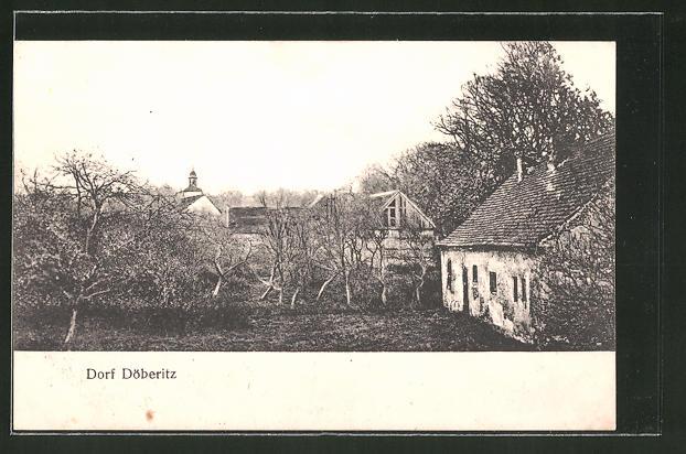 AK Döberitz, Häuser im Dorf