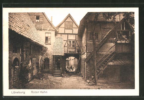 Roter Hahn Kunst ak lüneburg roter hahn nr 7769008 oldthing ansichtskarten
