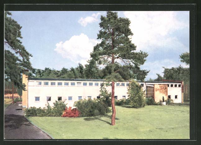 Ak Griesheim Bei Darmstadt Carlo Mierendorff Schule Nr 7780629