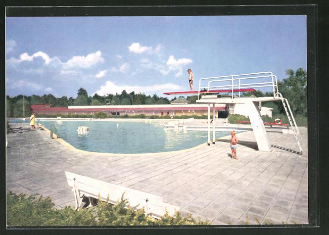 Schwimmbad Darmstadt ak griesheim bei darmstadt schwimmbad nr 7780630 oldthing