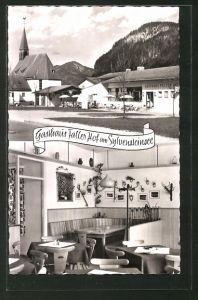 AK Fall am Sylvensteinsee, Gasthof Faller Hof
