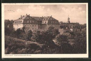 AK Ebersdorf, Töchterheim und Kirche