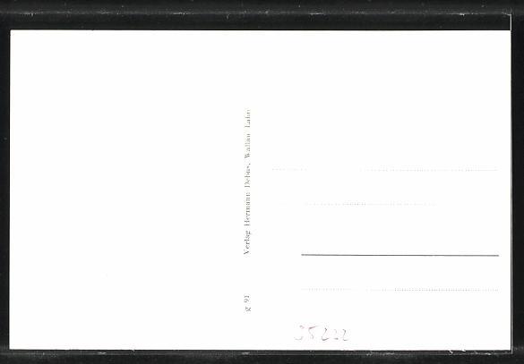 AK Allendorf-Hohenfels, Ortsansicht, Wirtschaft- und Warenhandlung W. Jacobi 1