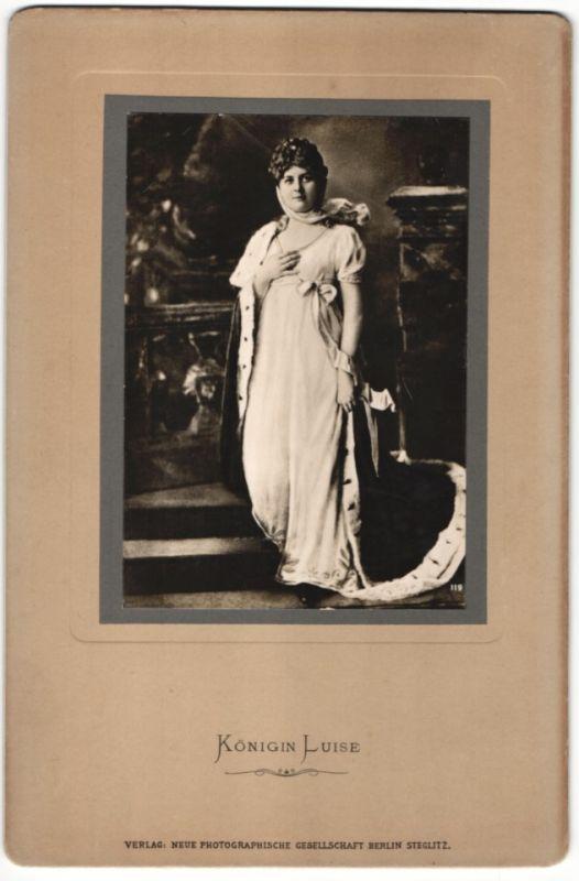 Fotografie NPG-Steglitz, Portrait Königin Luise von Preussen
