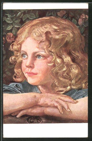 Künstler-AK G. Hirth's Verlag, Serie XXII, 5: Das Roserl
