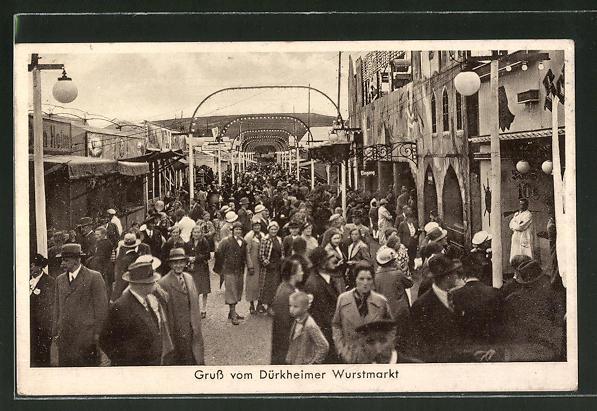 AK Dürkheim, Volksfest