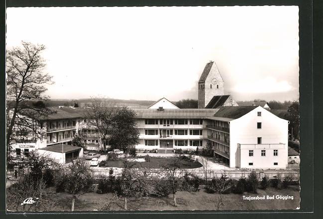 AK Bad Gögging, Blick auf das Kurheim Trajansbad