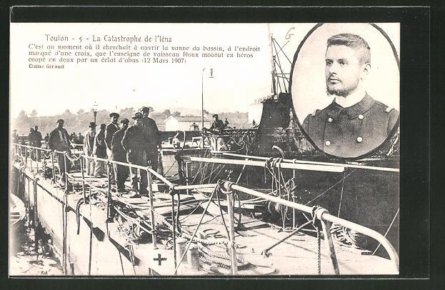 AK Toulon, la Catastrophe de l'Iéna, Seenotrettung