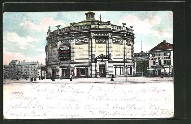 AK Leipzig, Rundbau des Restaurant