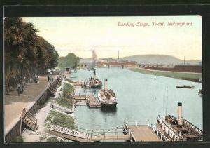 AK Nottingham, Landing-Stage, Trent