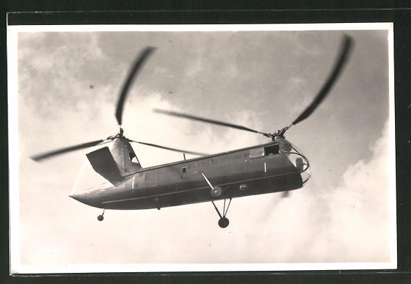 AK Hubschrauber Piasecki XHJP-1 im Flug