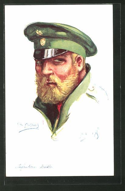 Künstler-AK Em. Dupuis: Nos alliés, Janvier 1915, Infanterie Russe