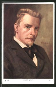 Künstler-AK Hugo Wolf, österreichischer Komponist