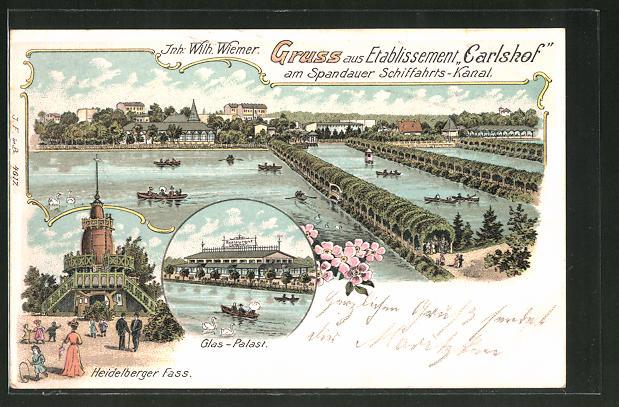 Lithographie Berlin-Charlottenburg, Gastst.