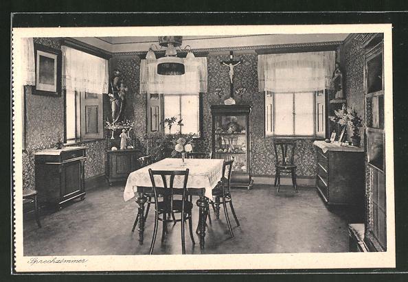 AK Lülsfeld, Haushaltungsschule Kloster Maria Schnee, Sprechzimmer