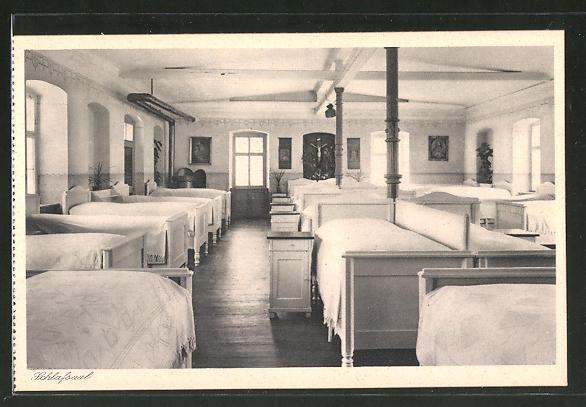 AK Lülsfeld, Haushaltungsschule Kloster Maria Schnee, Schlafsaal