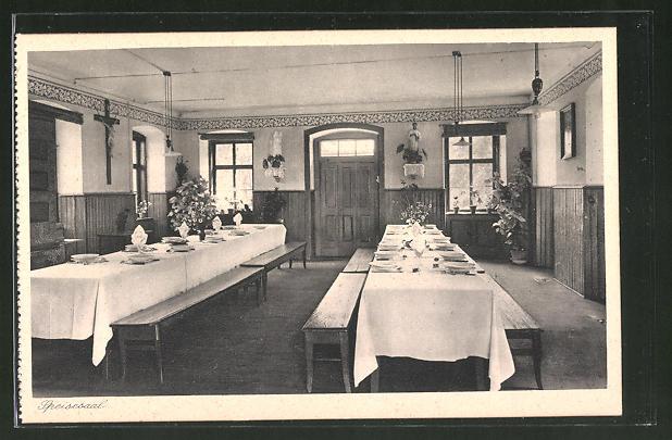 AK Lülsfeld, Haushaltungsschule Kloster Maria Schnee, Speisesaal