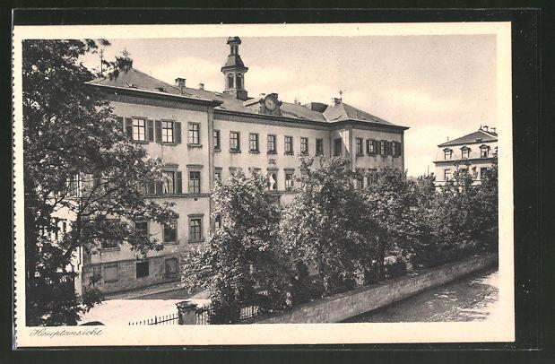 AK Lülsfeld, Haushaltungsschule Kloster Maria Schnee, Hauptansicht
