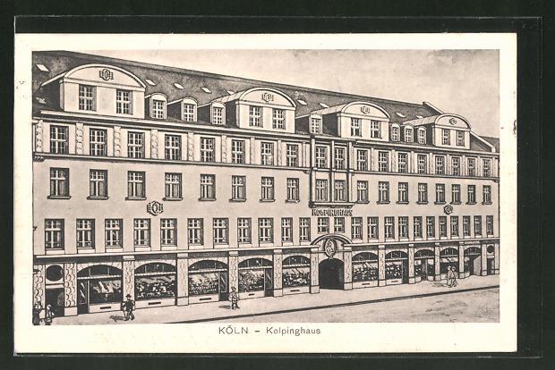 AK Köln, Kolpinghaus in der Breitestrasse 0