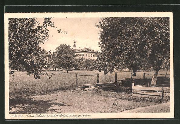 AK Lülsfeld, Kloster Maria Schnee, Haushaltungsschule, von der Ostseite aus gesehen