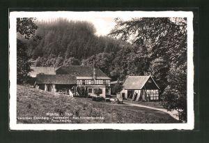 AK Eisenberg in Thüringen, Etablissement Froschmühle im Mühltal