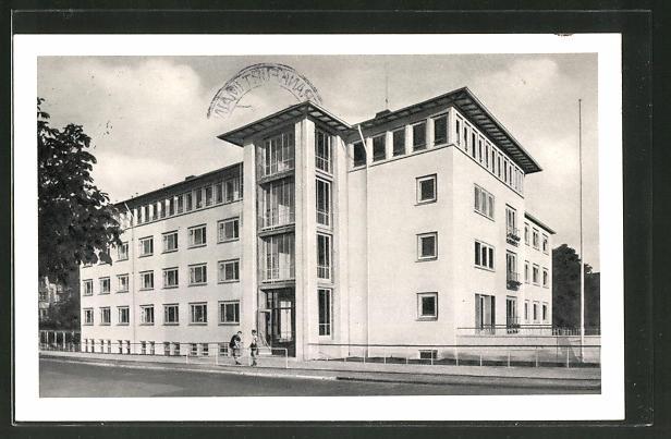 AK Frankfurt Sachsenhausen Haus der Jugend Strasse